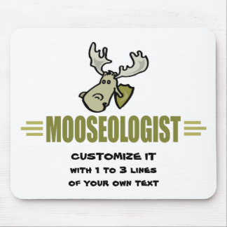 Funny Moose Mouse Pad