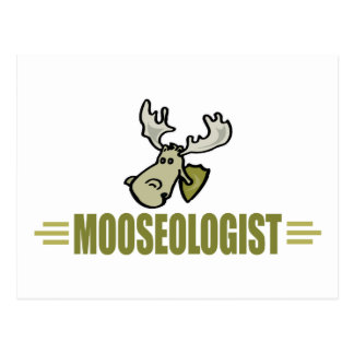 Funny Moose Post Card