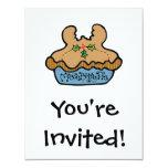 funny mooseberry pie custom invites