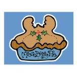 funny mooseberry pie post card