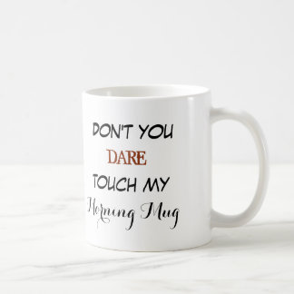 Funny morning mug