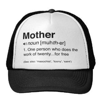 Funny Mother Definition Trucker Hat