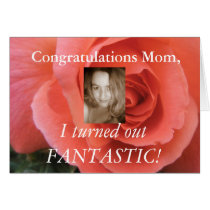 Funny Mothers Day Card - Add your own photo!