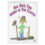 Funny Mothers Day Cards: Queen of the Castle Card
