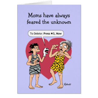 Funny Mother's Day Cards: Smart Phone