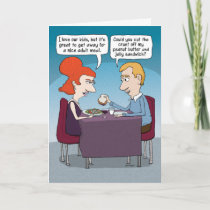 Funny Mother's Day Meal Card