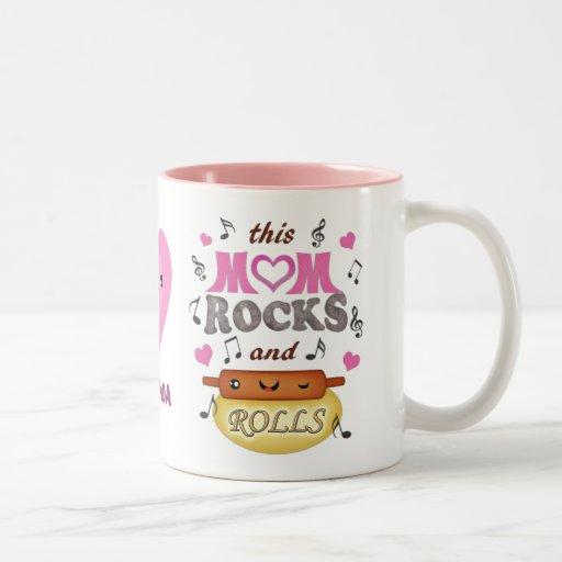 Funny Mother's Day Mom Rocks Mug