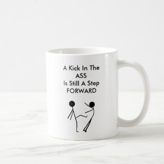Funny Motivational A Kick In The Ass Mug