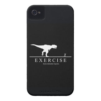 Funny Motivational Exercise Gym T-Rex iPhone 4 Case