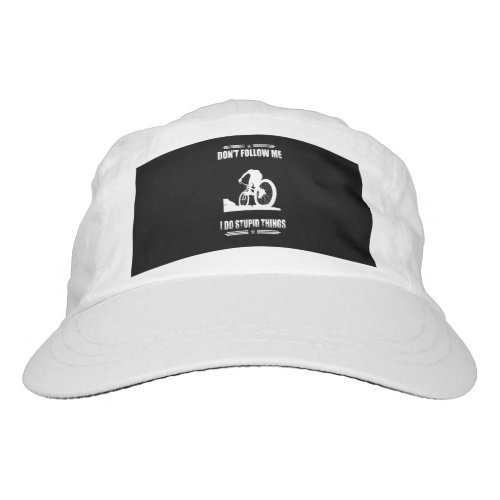 Funny Mountain Bike Quotes Biker Cyclist Hat
