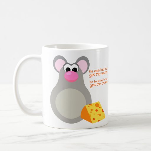 Funny Mouse Cartoon Mug