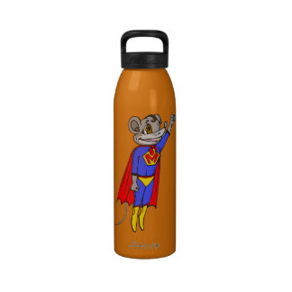Funny Mouse Liberty Water Bottle