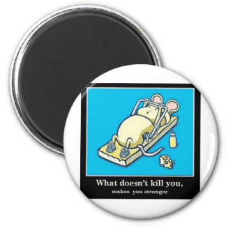 Funny Mouse Product 2 Inch Round Magnet