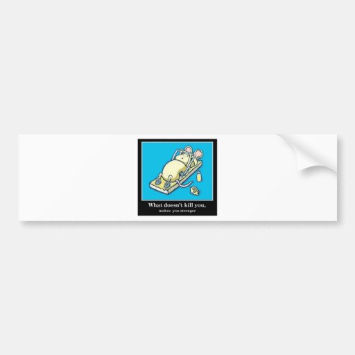 Funny Mouse Product Bumper Sticker