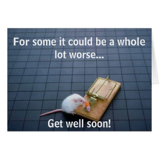 Funny Mouse Trap Card