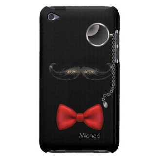 Funny Moustache Glasses Bow Tie iPod Case iPod Touch Case