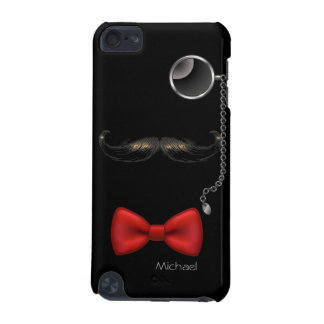 Funny Moustache Glasses Bow Tie iPod Touch 5 Case