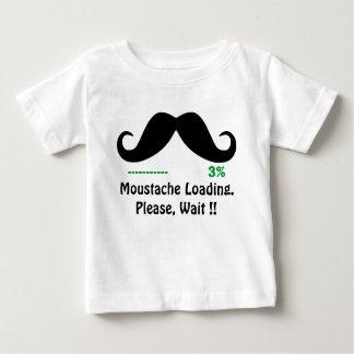 funny moustache t-shirt
