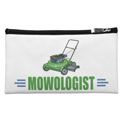 Funny Mowing Cosmetics Bags