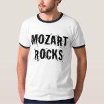 Funny Mozart Rocks Music Gift T-shirt