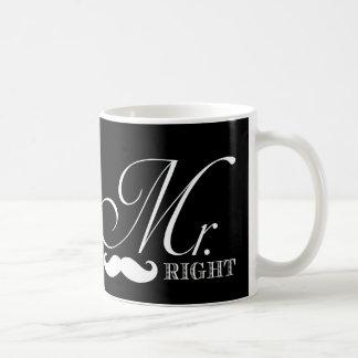 Funny Mr. Right Coffee Mug