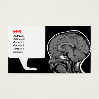 Funny MRI business card template