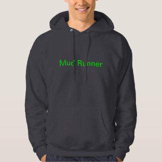 Funny Mud Runner Hoodie