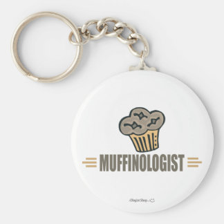 Funny Muffin Keychain