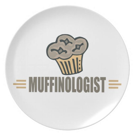 Funny Muffin Plates