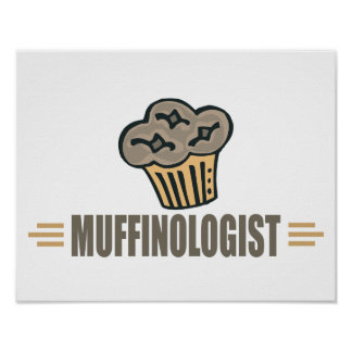 Funny Muffin Posters