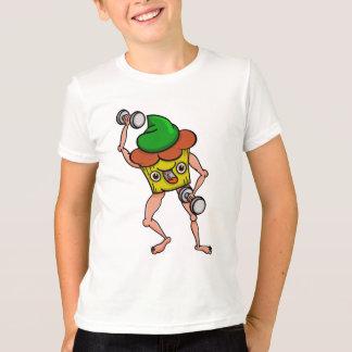 Funny Muffin Pumping Iron T-Shirt