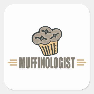 Funny Muffin Sticker