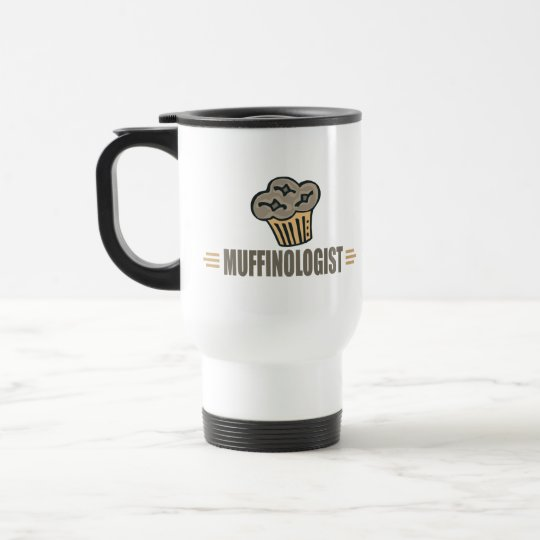 Funny Muffin Travel Mug
