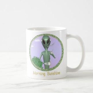 funny mug alien