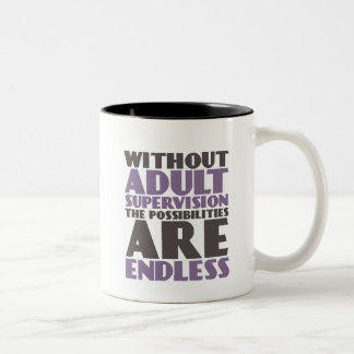 Funny Mug for Carefree and Rebellious Teenagers