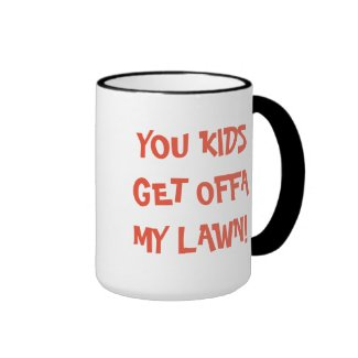 Funny Mug for Dad with Lawn Pride