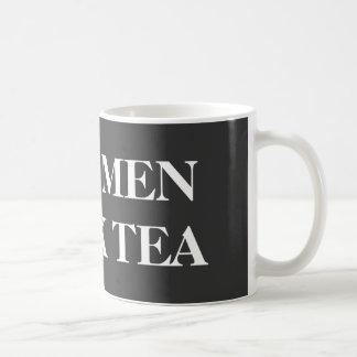 Funny mug for guys | Real men drink tea