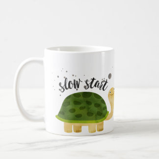 Funny Mug - Slow Start Not a Morning Person