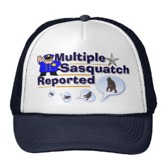 Funny Multiple Sasquatch Reported  Hat