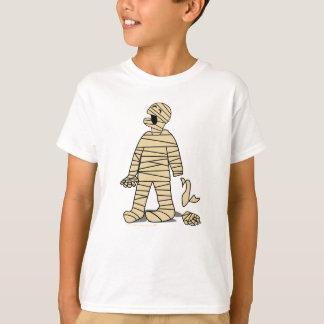 Funny Mummy Broken Hand Halloween T-Shirt