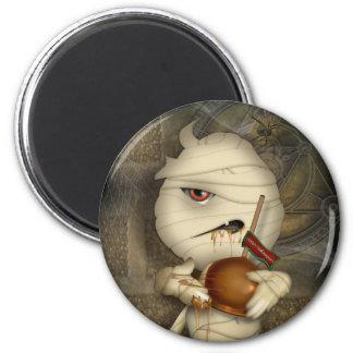 Funny Mummy Halloween Costume 2 Inch Round Magnet