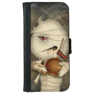 Funny Mummy Halloween Costume iPhone 6 Wallet Case