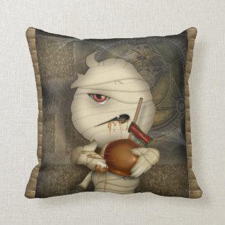 Funny Mummy Halloween Costume Pillow