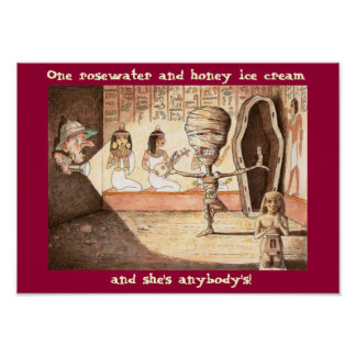 Funny Mummy Poster