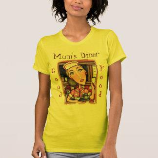 Funny Mum's Diner WaitressT-Shirt UK / Bristish T-Shirt