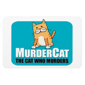 Funny Murder Cat magnet
