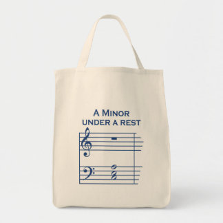 Funny Music A Minor Tote Bag
