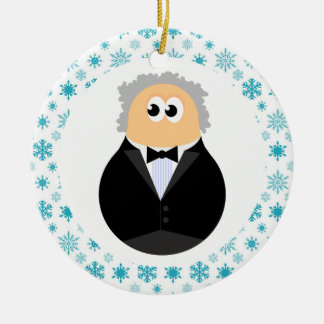 Funny Music Conductor Christmas Ornament Gift