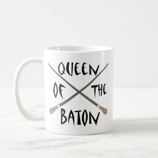 Funny Music Director Queen of the Baton Coffee Mug