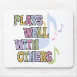 Funny Musician Gift Mouse Pad